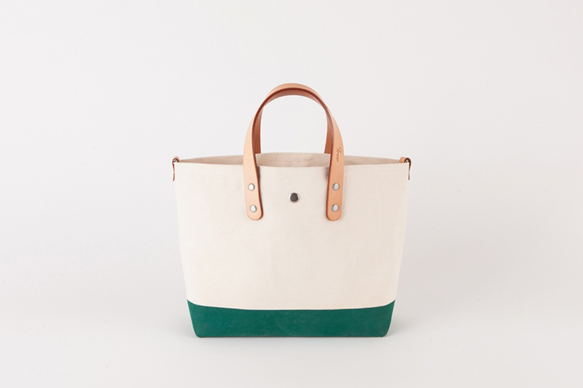 Day Canvas Bag M-Deep Green