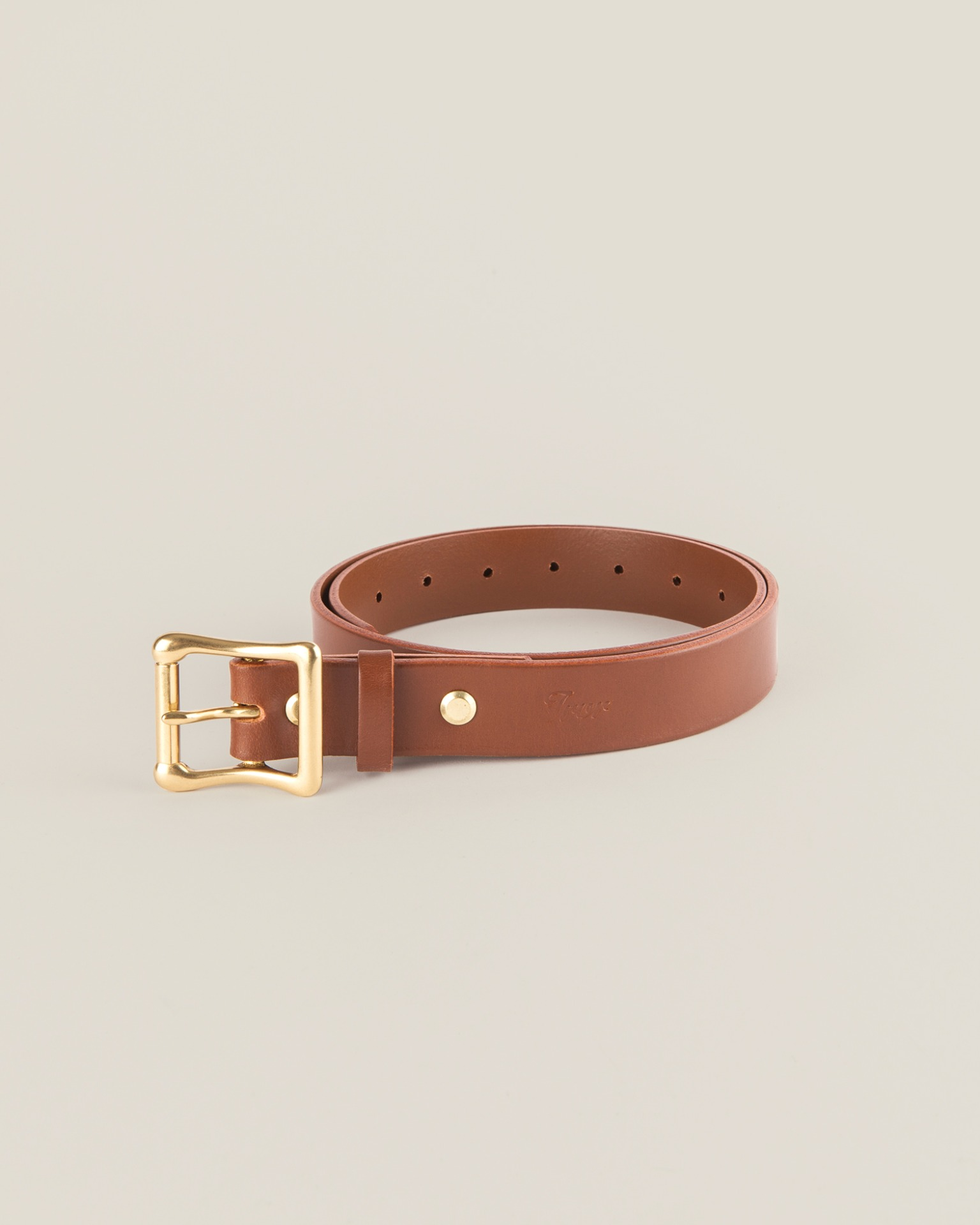 Leather Belt Tanned 3684